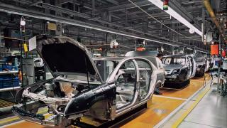 Car manufacturing production line
