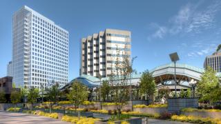 industrial park, Bellevue, Washington, United States