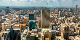Skyline of Johannesburg, South Africa