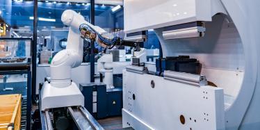 robotic arm modern industrial tech