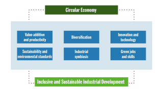 Impact of the Circular Economy on Inclusive and Sustainable Industrial Development